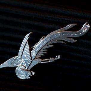 Brosch Paradise Bird